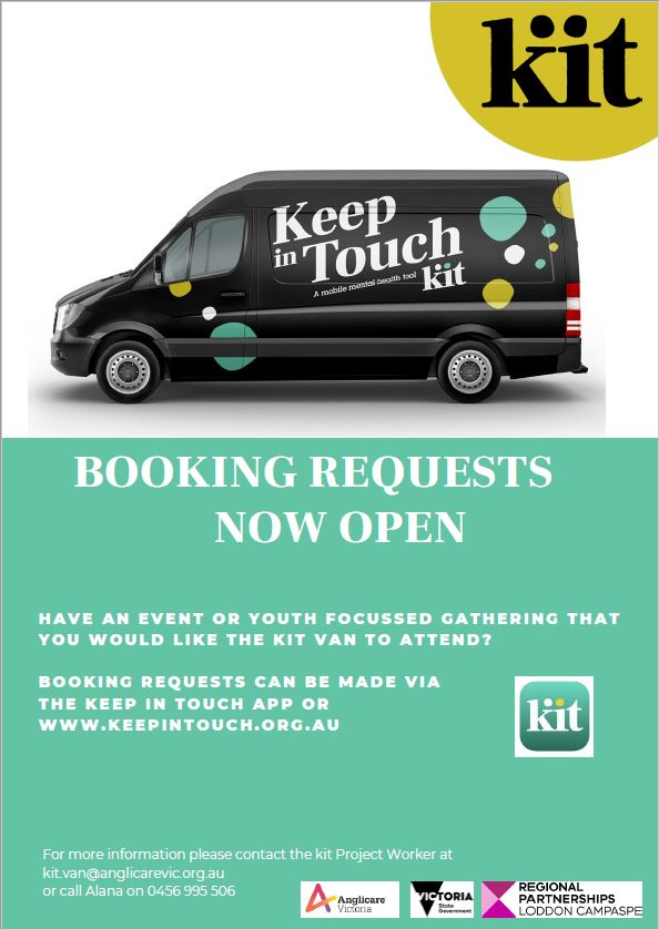 KiT Van booking request image