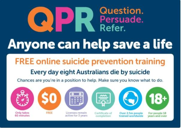 Murray PHN QPR Suicide Prevention Training